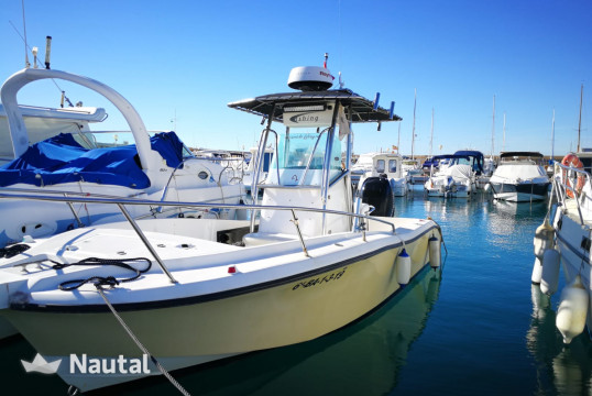 Fishing boat rent Boston Whaler FISHING RAPTOR 240 in Coma-Ruga, Tarragona