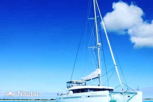 Alquilar catamarán Lagoon 450 sport top owner version en Port de Sant Antoni, Ibiza