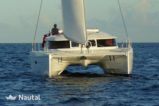 Catamaran rent Lipari 41  in Pointe-à-Pitre, Guadeloupe