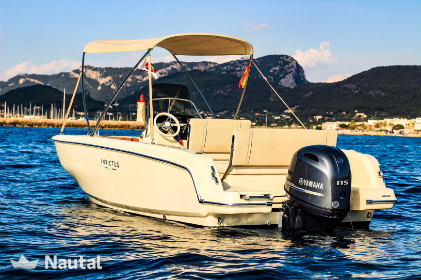 Motorboat rent Invictus INVICTUS 190 FX in Port d'Andratx, Mallorca