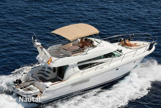 Motorboat rent Jeanneau Prestige 46 Fly Bridge in Castellammare di Stabia, Campania