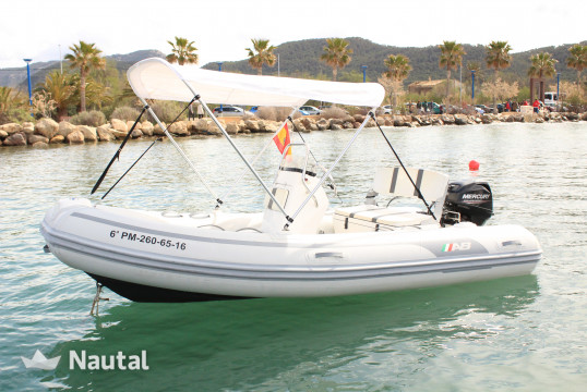 License free boat rent AB Marine AB MARINE 13 in Port d'Andratx, Mallorca