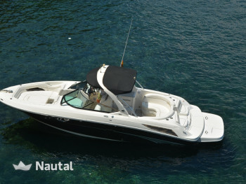 Enjoy this Sea Ray 300 SLX motorboat from 2012