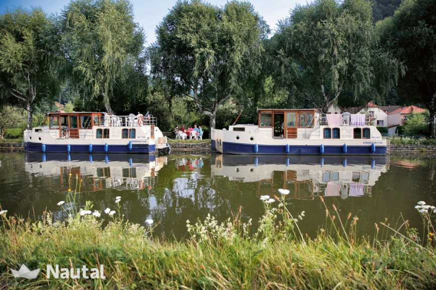 Houseboat rent Modell 1140 in Zehdenick Marina, Brandenburg - Havel