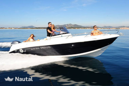 Huur motorboot Pacific Craft 670 Open in Port d'Eivissa, Ibiza