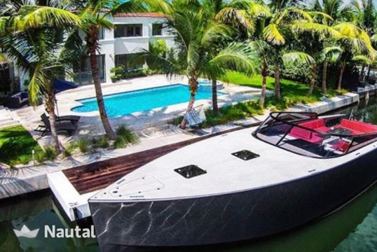 Motorboat rent VanDutch 55 ft  in Miami Beach, South Florida