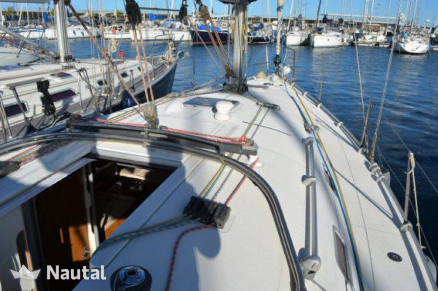 Sailing boat rent Poncin Yachts HARMONY 38 in Oropesa del Mar, Castellón
