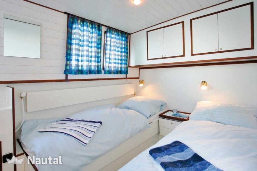 Houseboat rent Modell 1280 in Zehdenick Marina, Brandenburg - Havel
