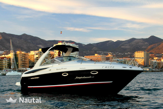 Motorboat rent Monterey 270 cr   in Fuengirola, Málaga