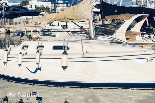 Sailing boat rent Fortuna F 9 in Ses Salines, Ibiza