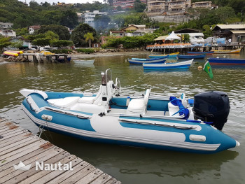 Rib rent SailMaster SailMaster SR 440 in By Dente, Santa Catarina