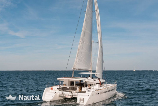 Catamaran rent Lagoon 450 S in Port du Gapeau, Var