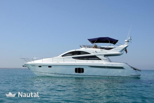 Yacht rent Fairline Phantom 48 in Port d'Eivissa, Ibiza