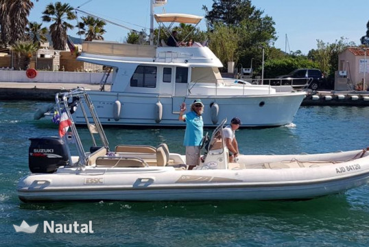 Rib rent Colzani BSC 65 in Port Grimaud, Var