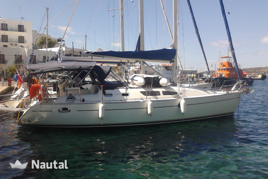 Sailing boat rent Jeanneau Sun Odyssey 37 in Port of Volos, Thessaly