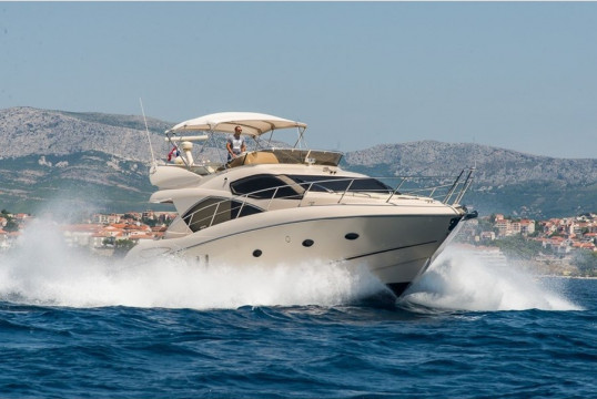 Huur jacht Sunseeker Manhattan 52 in Marina Lav, Split en Hvar
