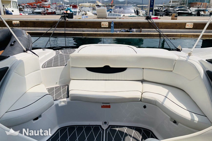 Motorboat rent Monterey 214 FS in Port de Sant Antoni, Ibiza