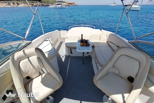 Motorboat rent Monterey 268 ss in Port de Sant Antoni, Ibiza