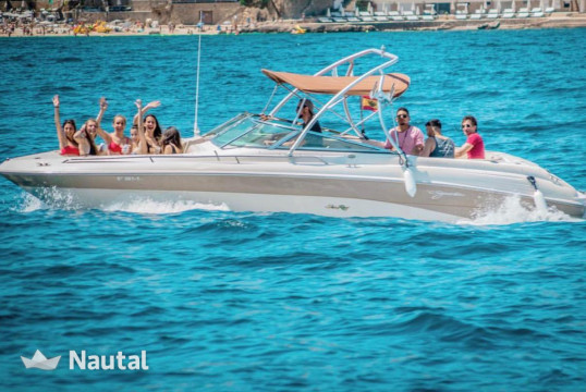 Motorboat rent Sea Ray 260 in Puerto Portals, Mallorca