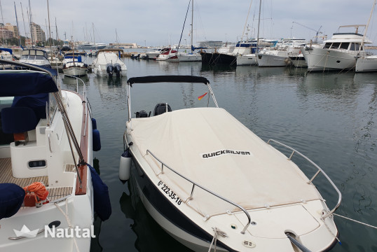 Motorboat rent Quicksilver OPEN 755 MERCURY 300 XL in Dénia, Alicante
