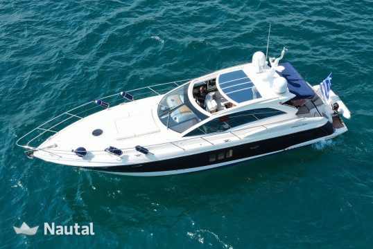 Motorboat rent Absolute Yachts  52 in Marina Delta Kallithea, Athens