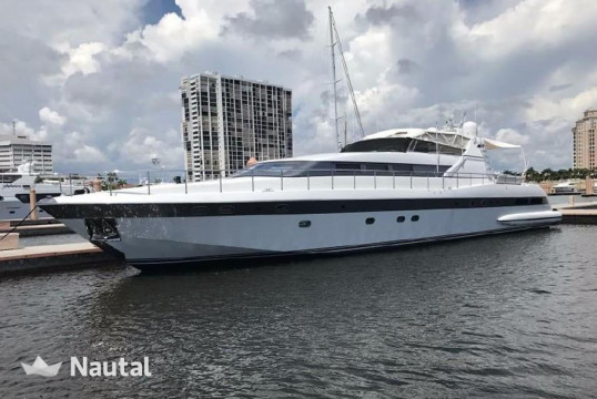 License free boat rent Mangusta 100 in Fort Lauderdale , South Florida