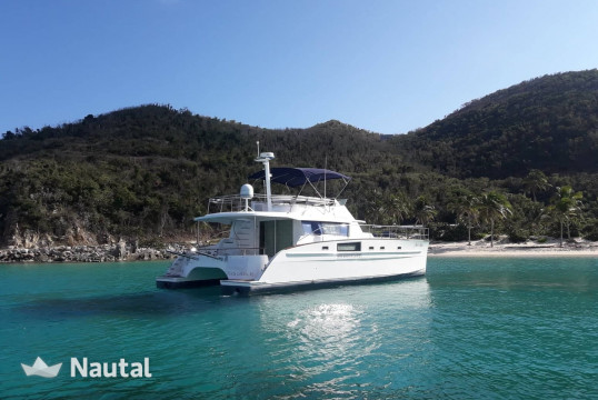 Catamaran rent Fontaine Cumberland 44 in Nanny Cay Marina, British Virgin Islands