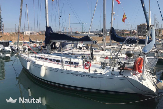 Sailing boat rent Beneteau First 405 in Badalona, Barcelona