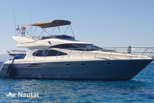 Yacht rent Astondoa 46 Fly in Santa Eulàlia, Ibiza