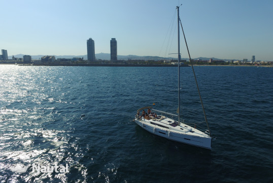Sailing boat rent Dufour 410 in Port Olímpic, Barcelona