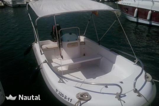 License free boat rent Astec SABOR 400 in Port d'Altea, Alicante