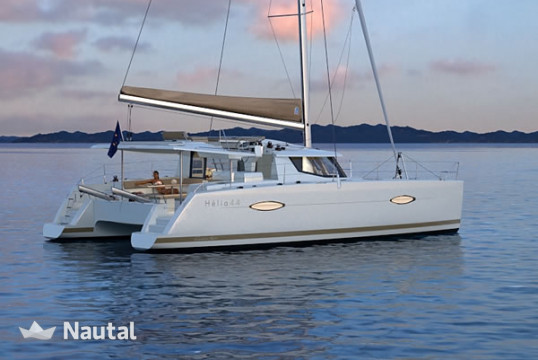 Catamaran rent Fontaine Pajot Helia 44 with watermaker & A/C - PLUS in Port Pin Rolland, Var