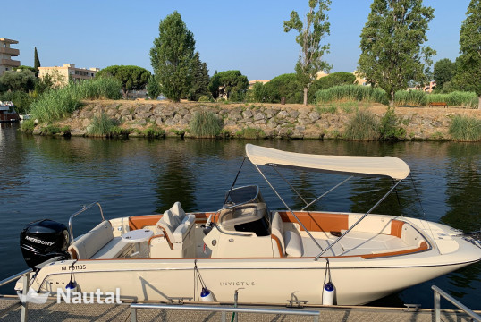 Motorboat rent Invictus FX 270 in Port Inland, Alpes Maritimes - Cannes