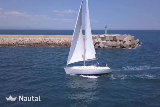Sailing boat rent Dufour 50 classic in Dénia, Alicante