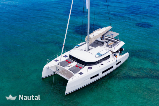 Catamaran rent Dufour Yachts  48 Catamaran in Tourlos Marina, Mykonos