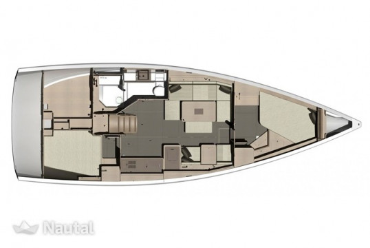 Sailing boat rent Dufour Yachts  412 Grand large in Setur Netsel Marina, Marmaris