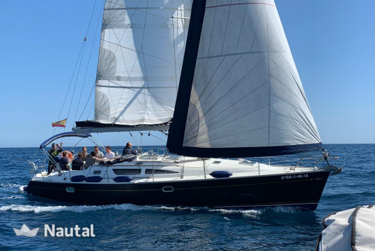 Sailing boat rent Jeanneau Jeaneau 40 Sun Odyssey  in Port Olímpic, Barcelona