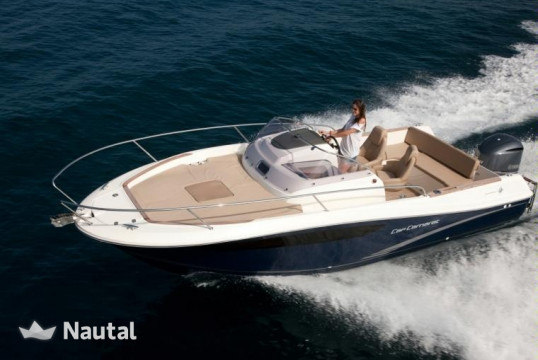 Motorboat rent Jeanneau  CC 7.5 WA  in Port de Sant Antoni, Ibiza