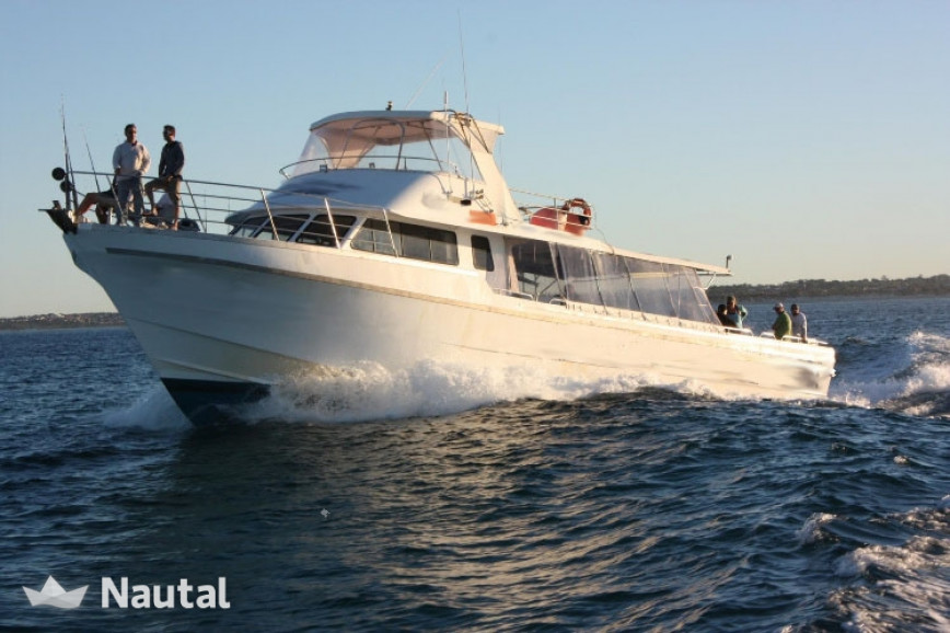 Fishing boat rent custom made 70 ft in hillarys boat for Rent fishing gear near me