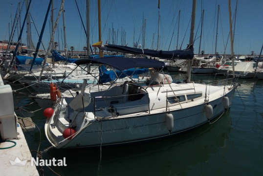 Sailing boat rent Janneau Sun Odyssey 32i in Sitges, Barcelona