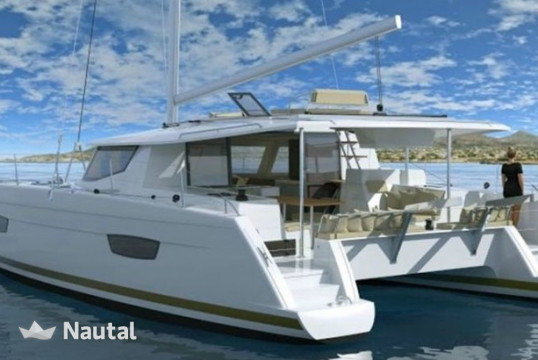 Catamaran rent Fontaine Pajot Helia 44 with watermaker & A/C - PLUS in Scrub Island Resort, British Virgin Islands