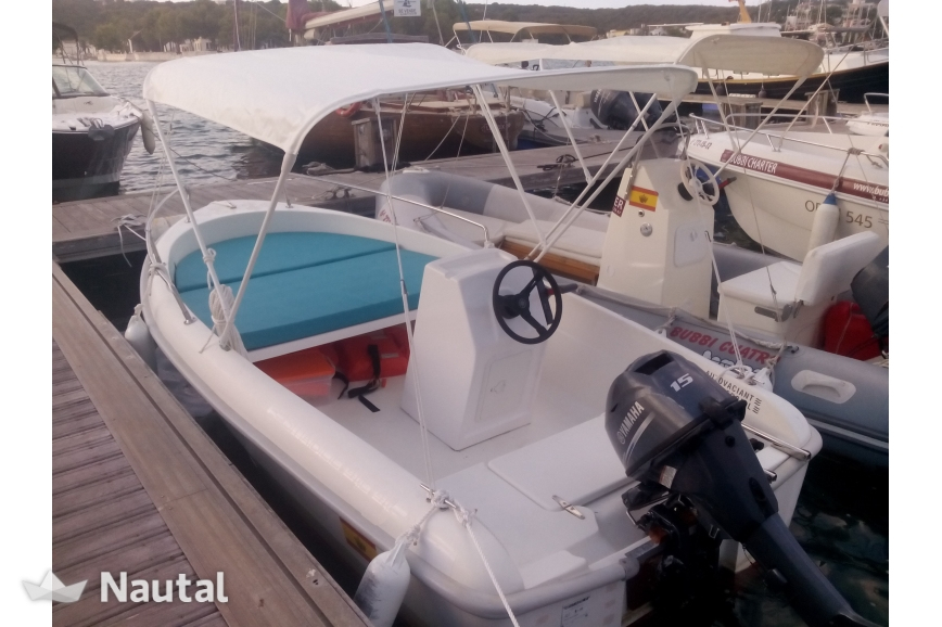 License Free Boat Rent Custom Stable 400 In Ma Menorca Nautal