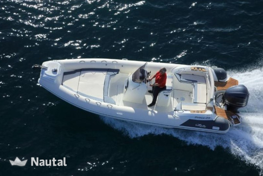 Rib rent Nuova Jolly Marine KIng 23' in Marina di Arbatax, Sardinia