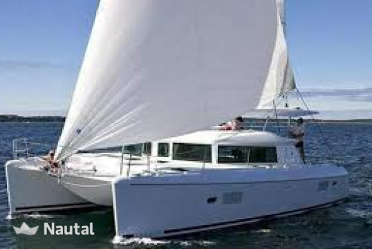 License free boat rent Lagoon Catamarans 420 in The Cove, South Florida