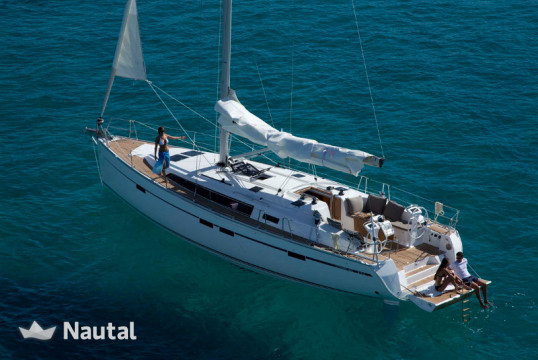 Sailing boat rent Bavaria Yachtbau  Cruiser 46 in Vorio Neo Limani Port, Skiathos