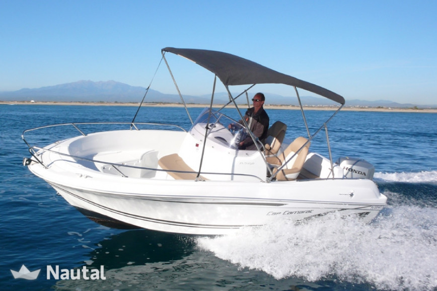 Motorboat Rent Jeanneau Cap Camarat 6 5 In Port De Saint Cyprien