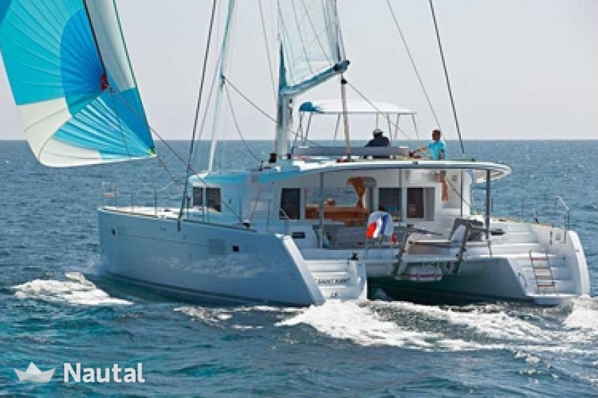 Alquilar catamarán Lagoon  450 with watermaker en Port du Marin, Martinica