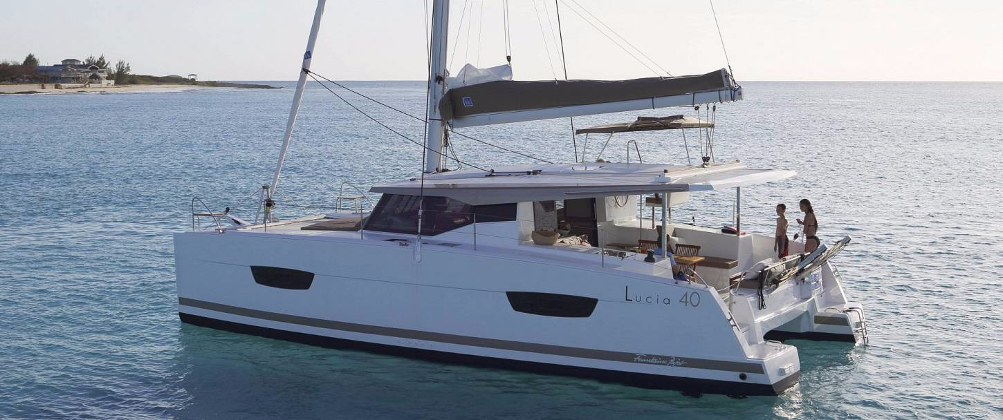 Fountaine Pajot Lucia 40 O.V. with watermaker & A/C - PLUS